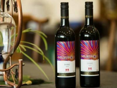 蜜雅萝白标色拉子红葡萄酒