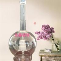 内置帆船高硼硅玻璃工艺灯泡白酒瓶
