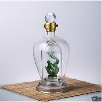 河间玻璃酒瓶厂 定制生产各种工艺酒瓶