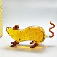 十二生肖酒瓶老鼠造型白酒瓶动物造型金钱鼠酒瓶