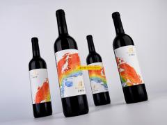 深圳包装设计公司古一设计红桥庄园红酒logo设计红酒包装设计