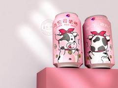 奶啤包装设计 古一包装设计案例