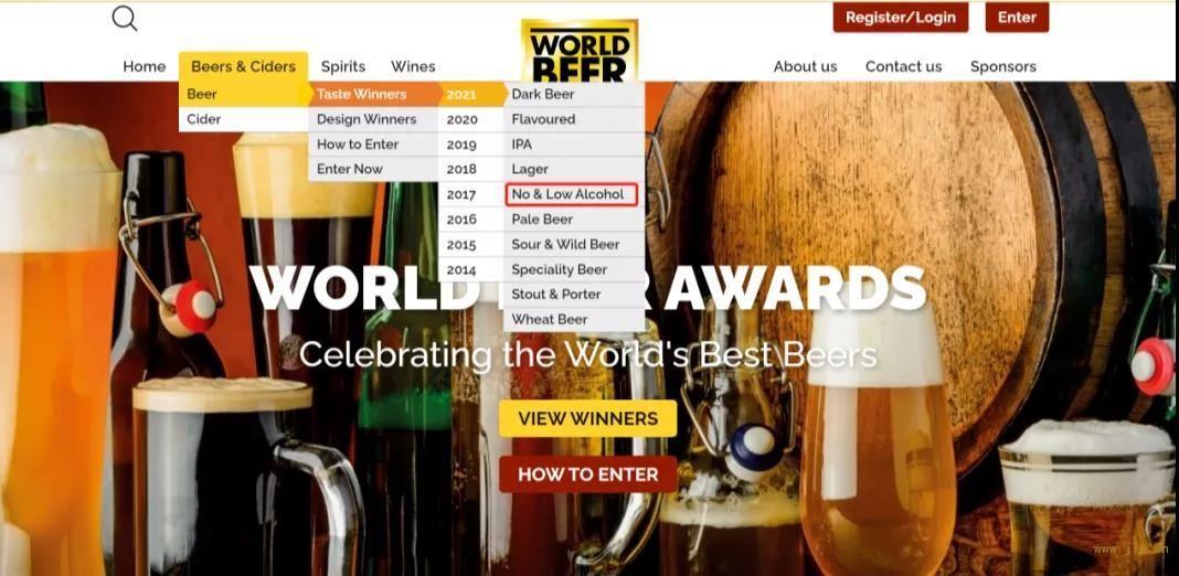 2021年世界啤酒大赛WBA结果揭晓!